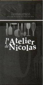 Atelier nicolas